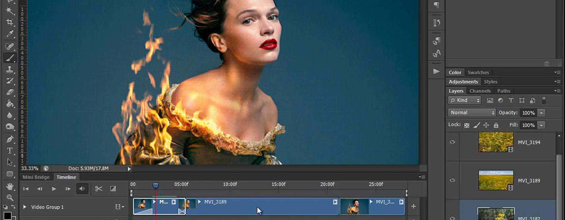 Cinemagraphs maken met Photoshop