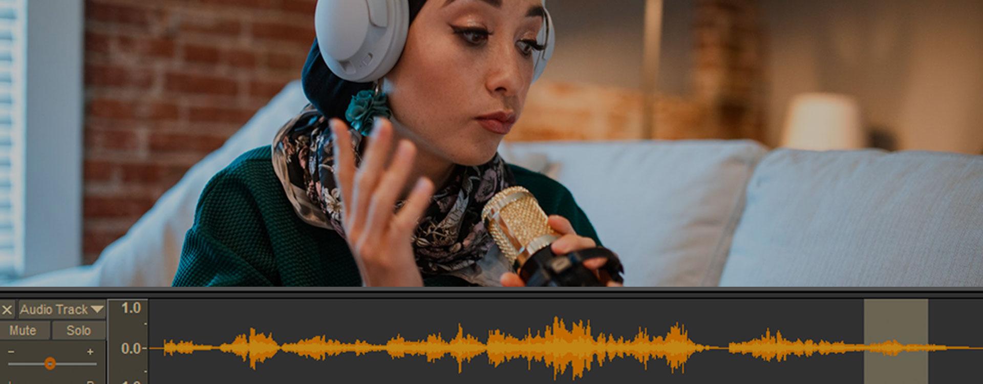 Podcasts en audio editing met Audacity