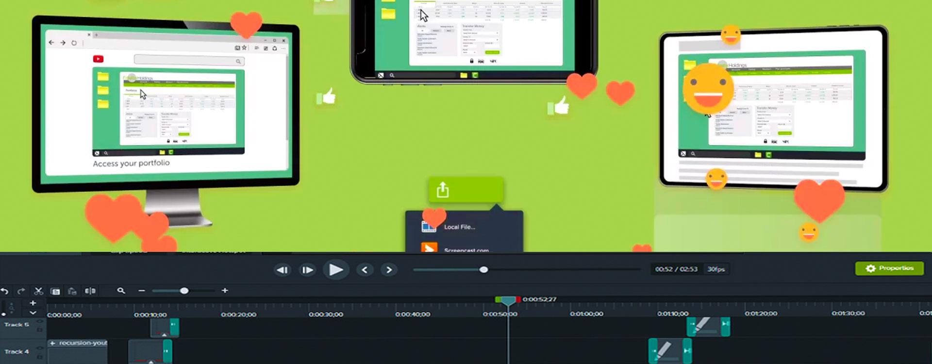 Screencasting met Camtasia voor de Mac