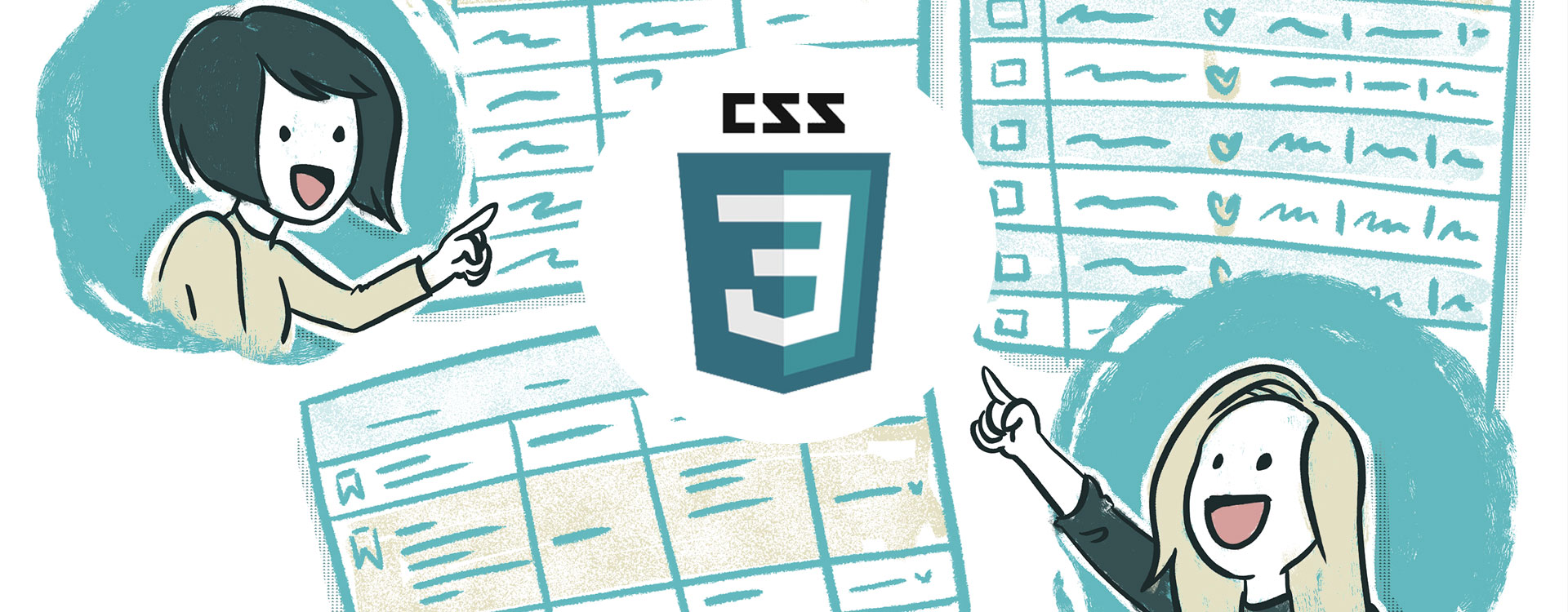 Tabellen vormgeven met CSS