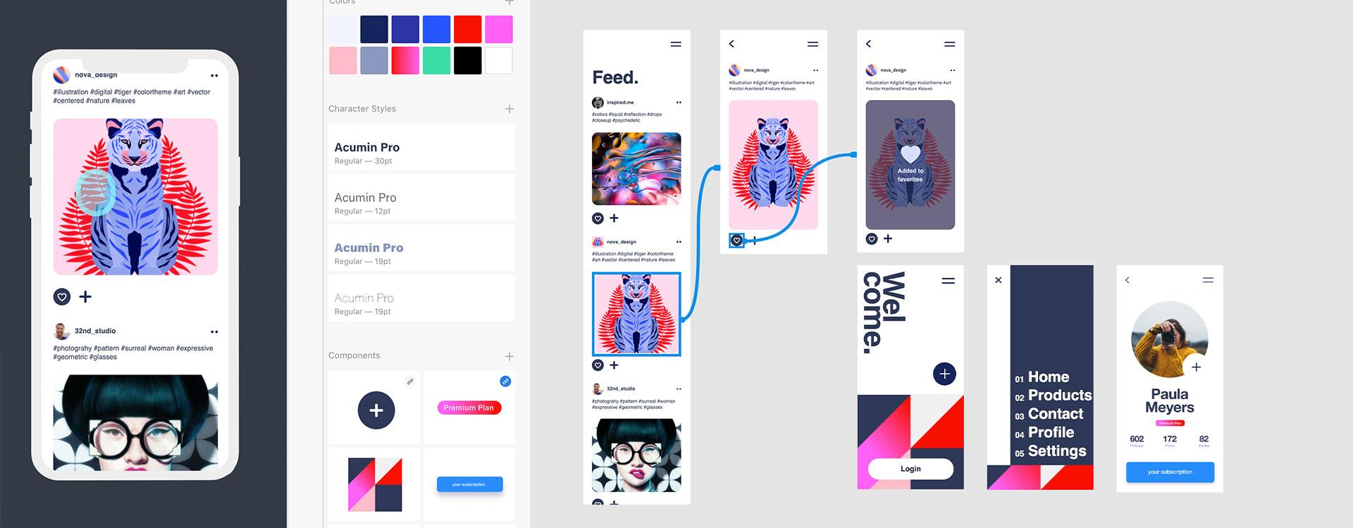 Starten met Adobe XD (Experience Design)