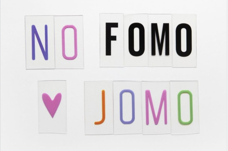No FOMO but JOMO!